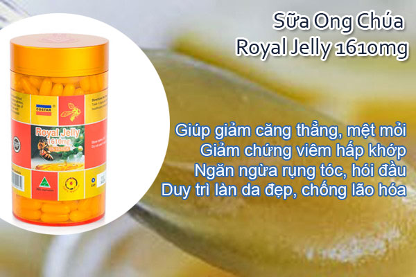 Sữa Ong Chúa Royal Jelly 1610mg